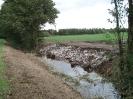 Förderung Natürliches<br>Erbe - Falkenhainer Fließ<br>Bau Grabentasche<br>für  Edelkrebse